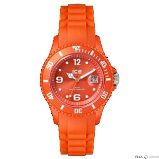 Ice - Watch Kinder Damenuhr Datum Quarz Silikon Sw.  Tan.  B.  S.  12 Tangerine Big Bild