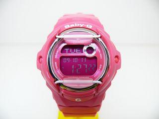 Casio Baby - G 3189 Bg - 169r Digital Damen Uhr Armbanduhr Weltzeit Schick 20atm Bild