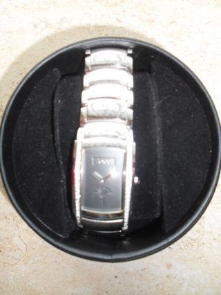 Elegante Joop Damen Armbanduhr Tl459 4 Schwarzes Zifferblatt Zikonia Besatz Top Bild