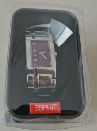 Esprit Damenuhr Mit Zubehör Starline Pico Purple Uhr Damen Armbanduhr Bild