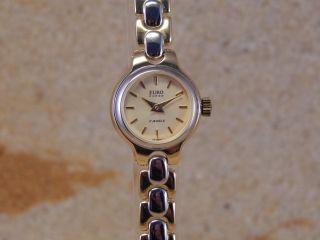 Eurochron Handaufzug Glashüttewerk Damen - Armbanduhr 28 Bild