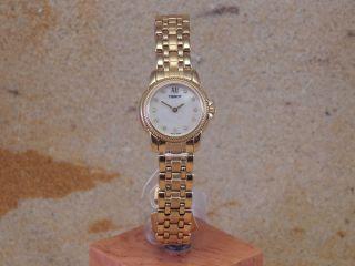 Tissot T46.  5.  285.  76 Quarz Damen - Armbanduhr W122 Bild