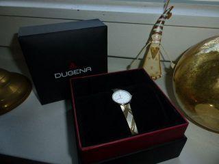Dugena Armbanduhr Damenarmbanduhr Klassisch Elegant Multi - Color Bild