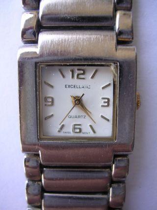Silberstück Sehr Feminin Armbanduhr Für Damen Weißes Zifferblatt Dau Tonneau Bild