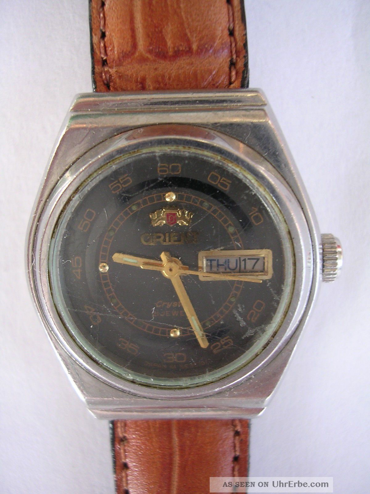 Für Sammler Handaufzug Vintage Damenruhr Orient Automatik Dau Armbanduhren Bild
