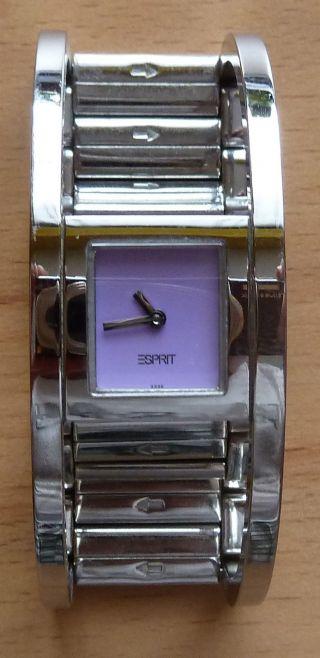 Esprit Rollercoaster Spangenuhr Fliederfarben Bild