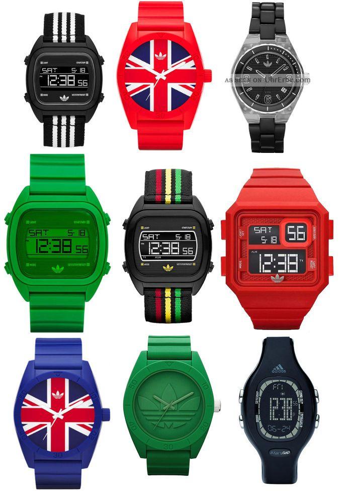 Adidas Uhr Damen Herren Armbanduhr Sydney Curitiba Santiago Versch.  Modelle Wow Armbanduhren Bild