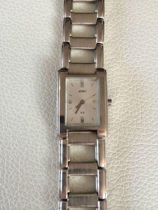 Armbanduhr Damen / Damenuhr / Damenarmbanduhr Adec Wr 18 Cm Lang Bild