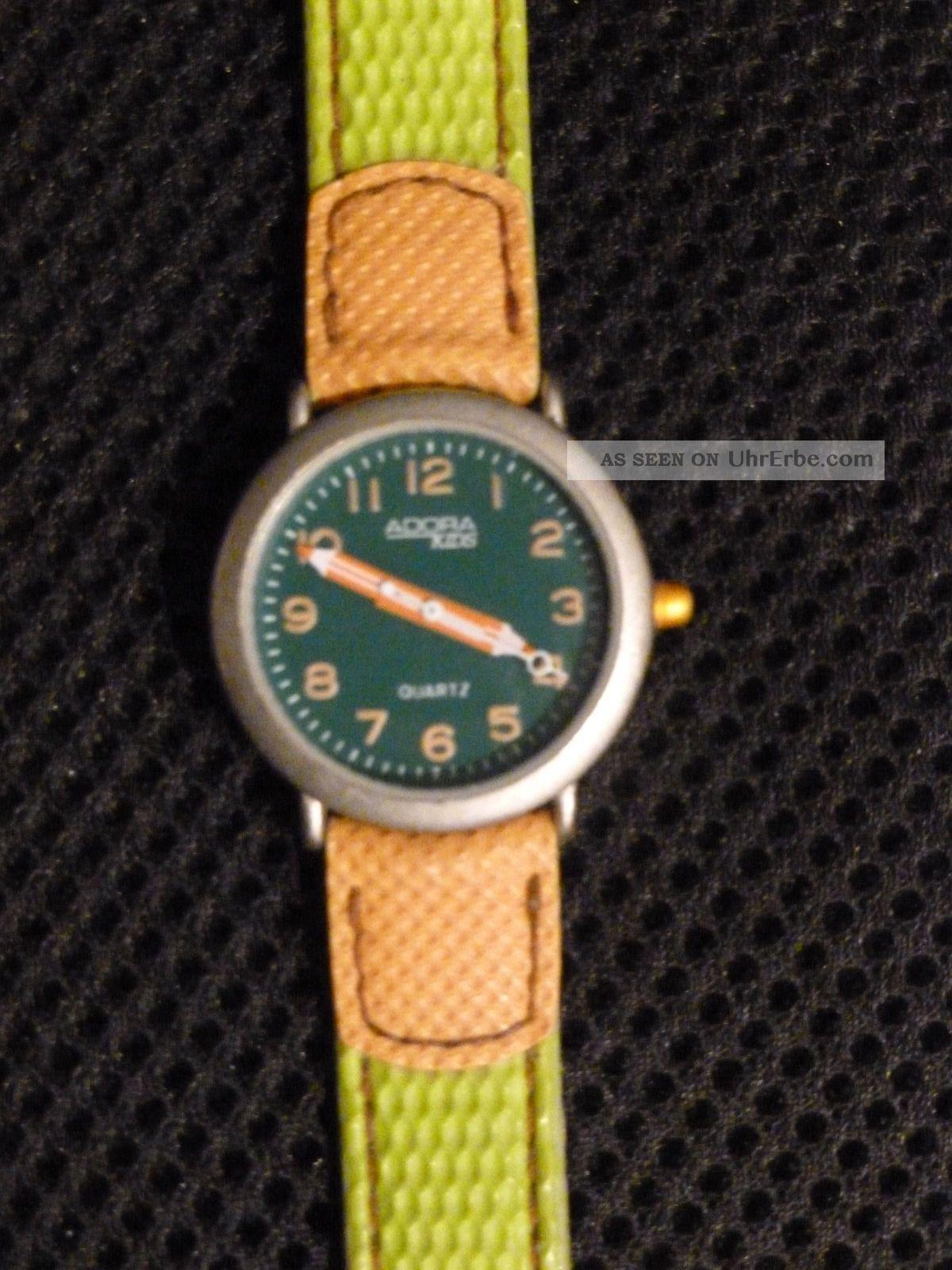 Kinder - Armbanduhr Grün/orange Armbanduhren Bild