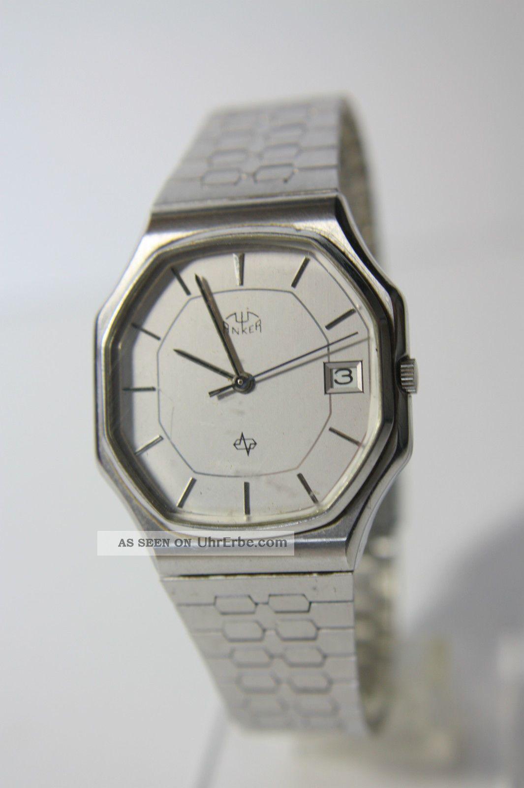 Schöne Anker Quartz Herrenarmbanduhr Armbanduhren Bild