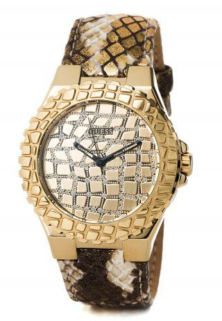 Guess Uhr Untamed Damenuhr Markenuhr Lederarmband Bild