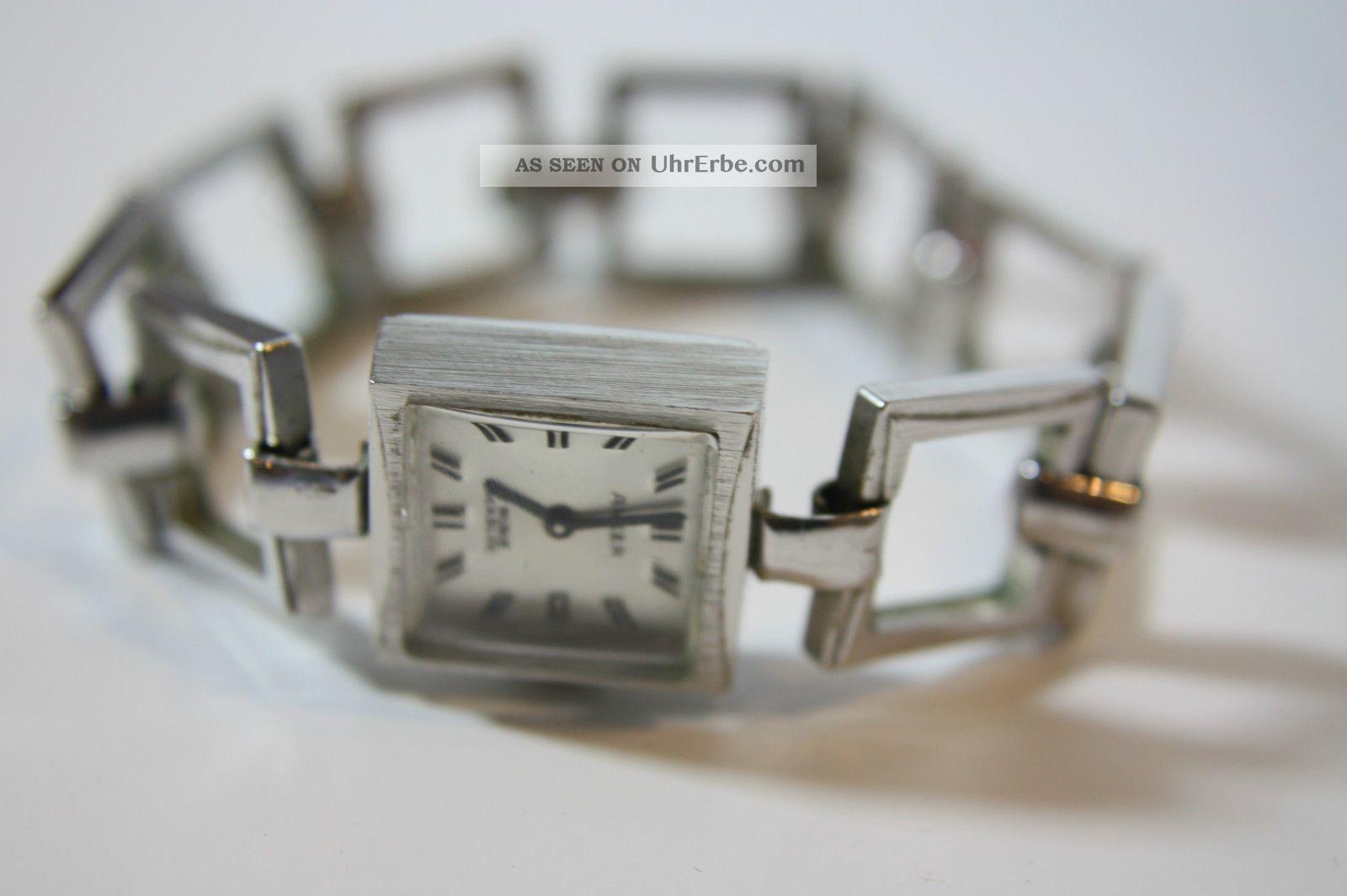 Alte Anker Damenarmbanduhr Kal.  Puw 1175 Armbanduhren Bild