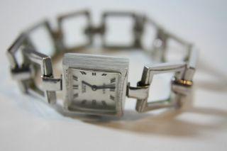 Alte Anker Damenarmbanduhr Kal.  Puw 1175 Bild