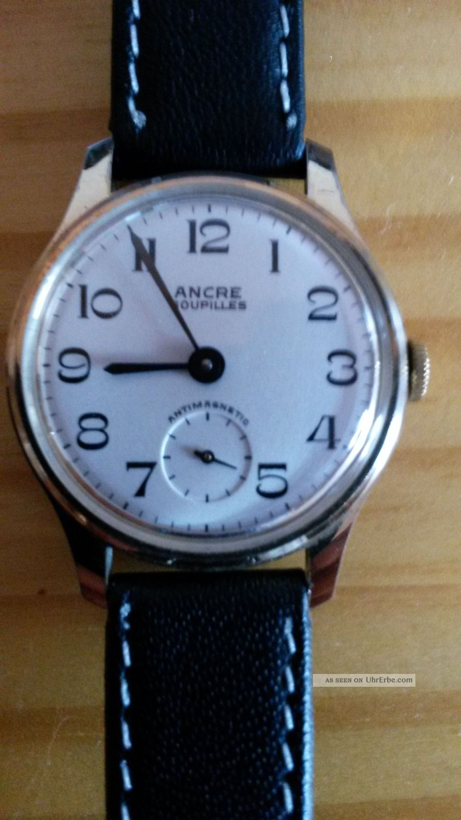 ancre goupilles armbanduhr vintage wristwatch. Black Bedroom Furniture Sets. Home Design Ideas