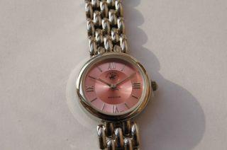 Beverly Hills Polo Club Damenuhr Uhr Elegance Rosa Bild
