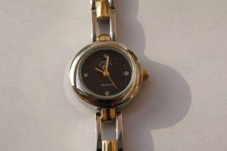 Beverly Hills Polo Club Damenuhr Uhr Elegance Schwarz Gold Bild