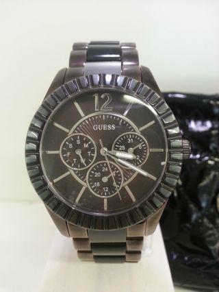 Neue Guess Uhr W0028l2 Damenuhr Multifunktionsuhr Bild