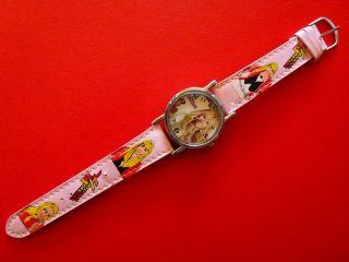 Kinder Hannah Montana Armbanduhr Für Bastler Ersatzteilgewinnug - _ Bild