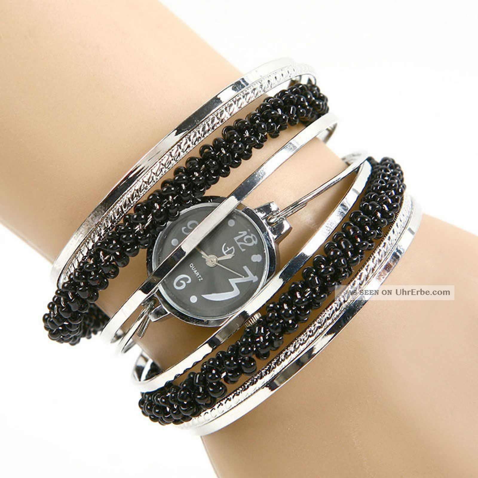 Armbanduhr damen  Modische Spangen - Armbanduhr Damen Mädchen Uhr In 4 Designs U - D58