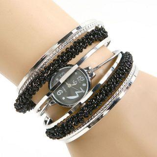Modische Spangen - Armbanduhr Damen Mädchen Uhr In 4 Designs U - D58 Bild