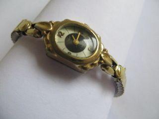 Alte Anker Schweiz Damen Armbanduhr 17 Jewels Handaufzug 1950 Läuft Gut Bild