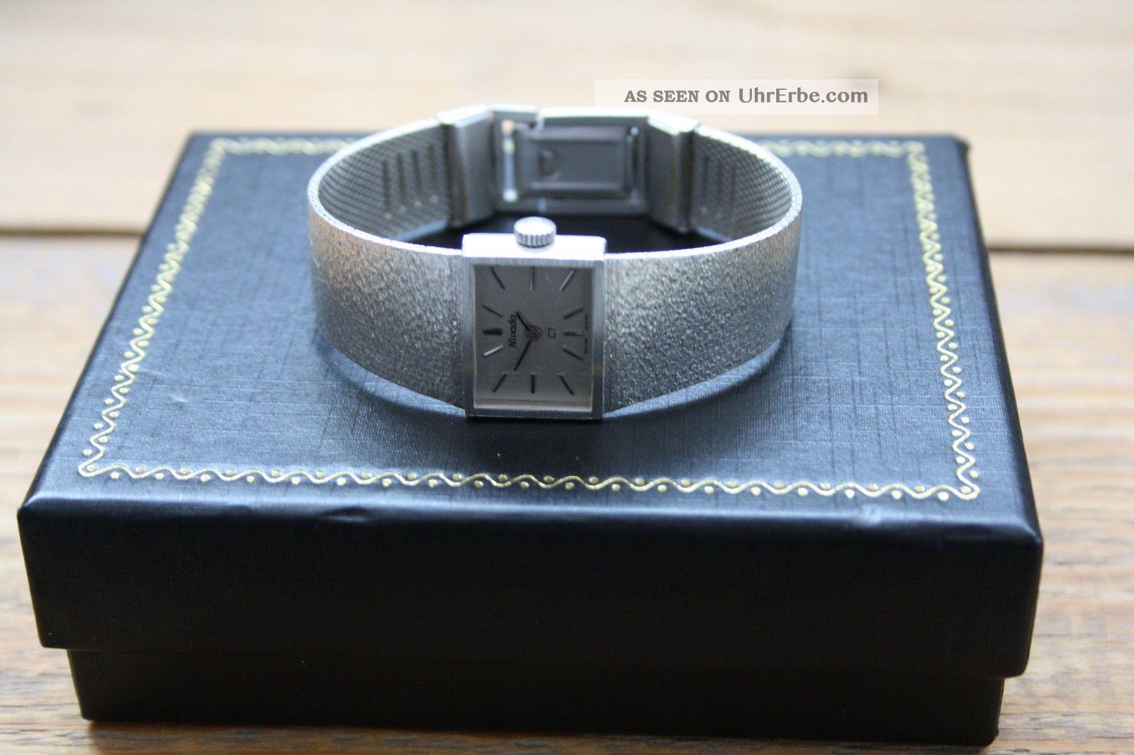 Damenarnbanduhr 1970 Nivada Mechanisch Vintage Sehr SchÖn,  Elegant Nos Swiss Armbanduhren Bild