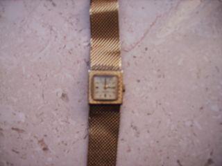 Kienzle Uhr Armband Berlin Truvintage Hipster 60er 50er Metallkettenband Gold Bild
