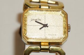GlashÜtte 17 Rubis Damenuhr - Handaufzug - Made In Gbr / Ddr Bild
