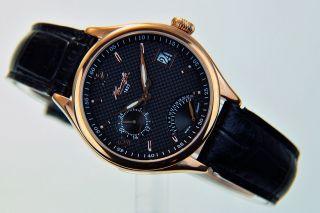 Kienzle 1822 Damen Uhr Quartz Rosè Vergoldet Mit Lederband Datum V83092342630 Bild