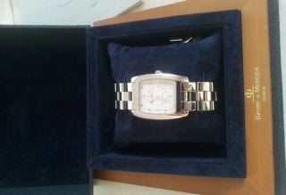 Baume & Mercier Uhr Hampton Originalverpackung Generalüberholung Automatik Luxus Bild