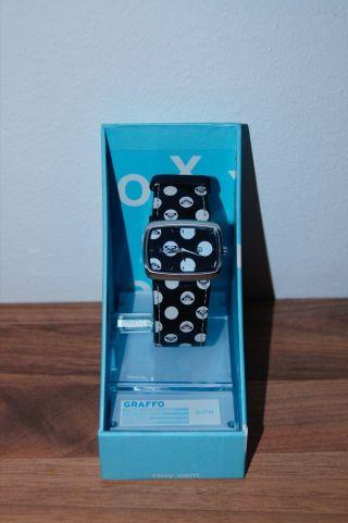 Roxy Damen Armbanduhr,  Schwarz/weiß Originale Uhr Von Roxy E463 In Ovp Bild