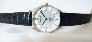 Kienzle Damen Armbanduhr Quarz Aus Titan Mit Lederarmband Und Miyota Werk Bild