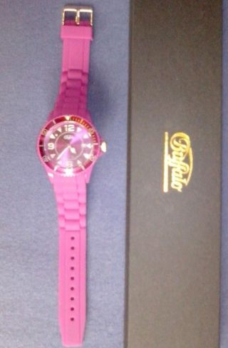 Buffalo Armbanduhr Uhr Silikonband Beere Wasserdicht Mädchen Weihnachtsgeschenk Bild