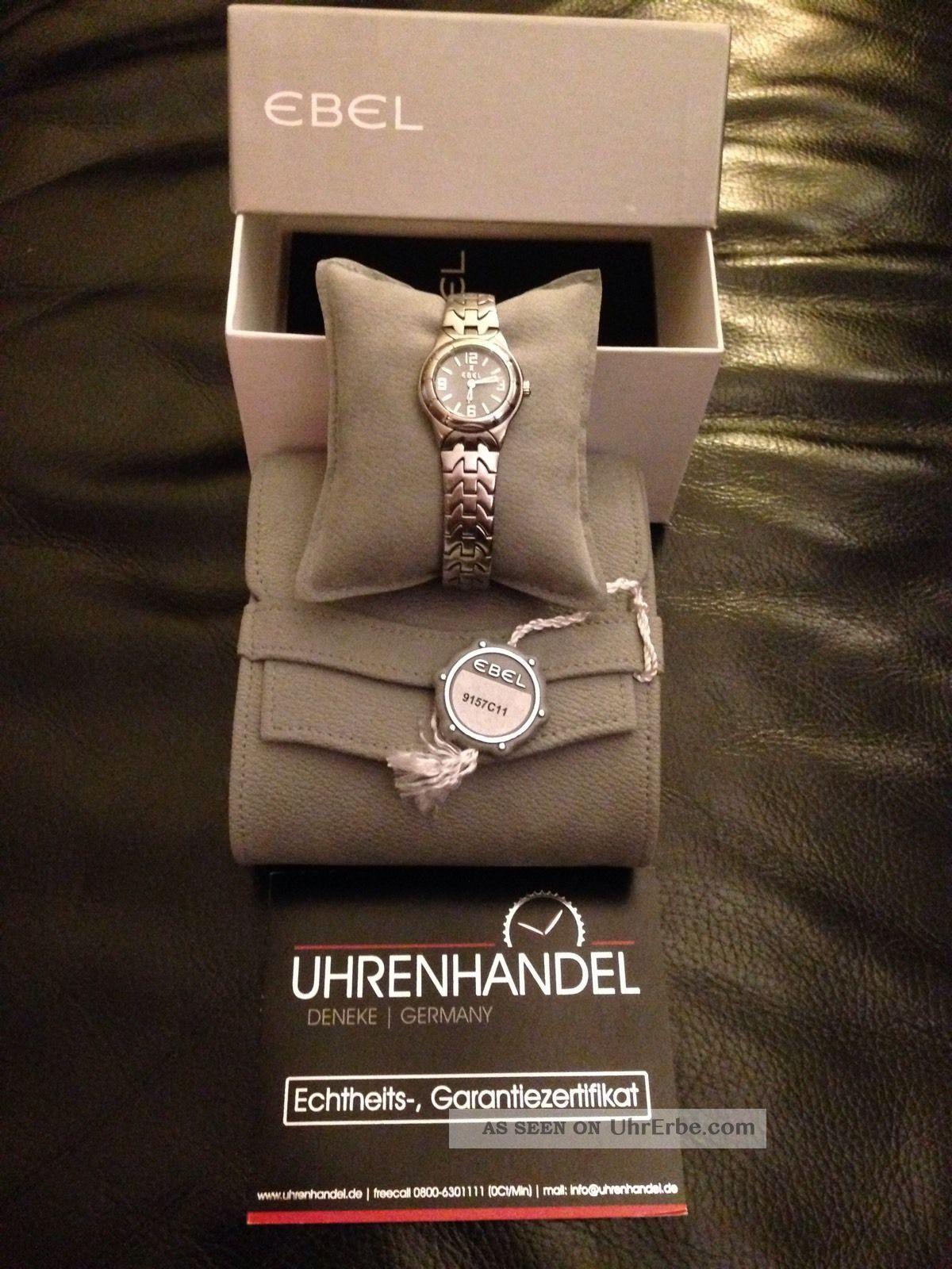 Ebel Damenuhr Type E Armbanduhren Bild