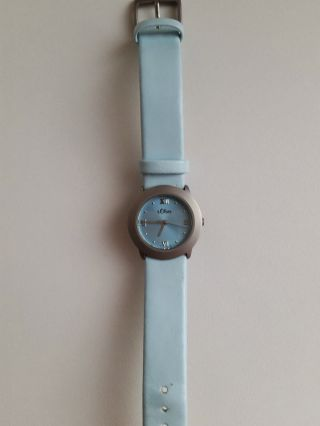 S.  Oliver Uhr Hellblau Wie Armbanduhr Bild