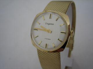 Dugena - Gold - Nos - Vintage 1960 ' S - Neuwertig Bild