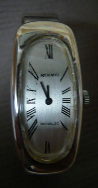 Solvil Et Titus - Rodeo - Silber 800 - Analog - Spangenuhr - Damenuhr - Mechanisch - Schweiz - Bild