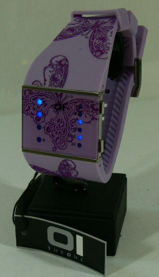 Oi The One Damen - Armbanduhr/ Binary Watch/ Uhr/ Mod - Slsl140b3/ & Ovp 3 Bild