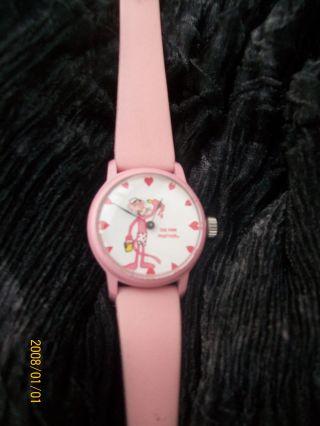 Kinderuhr Armbanduhr Pink Panther Bild