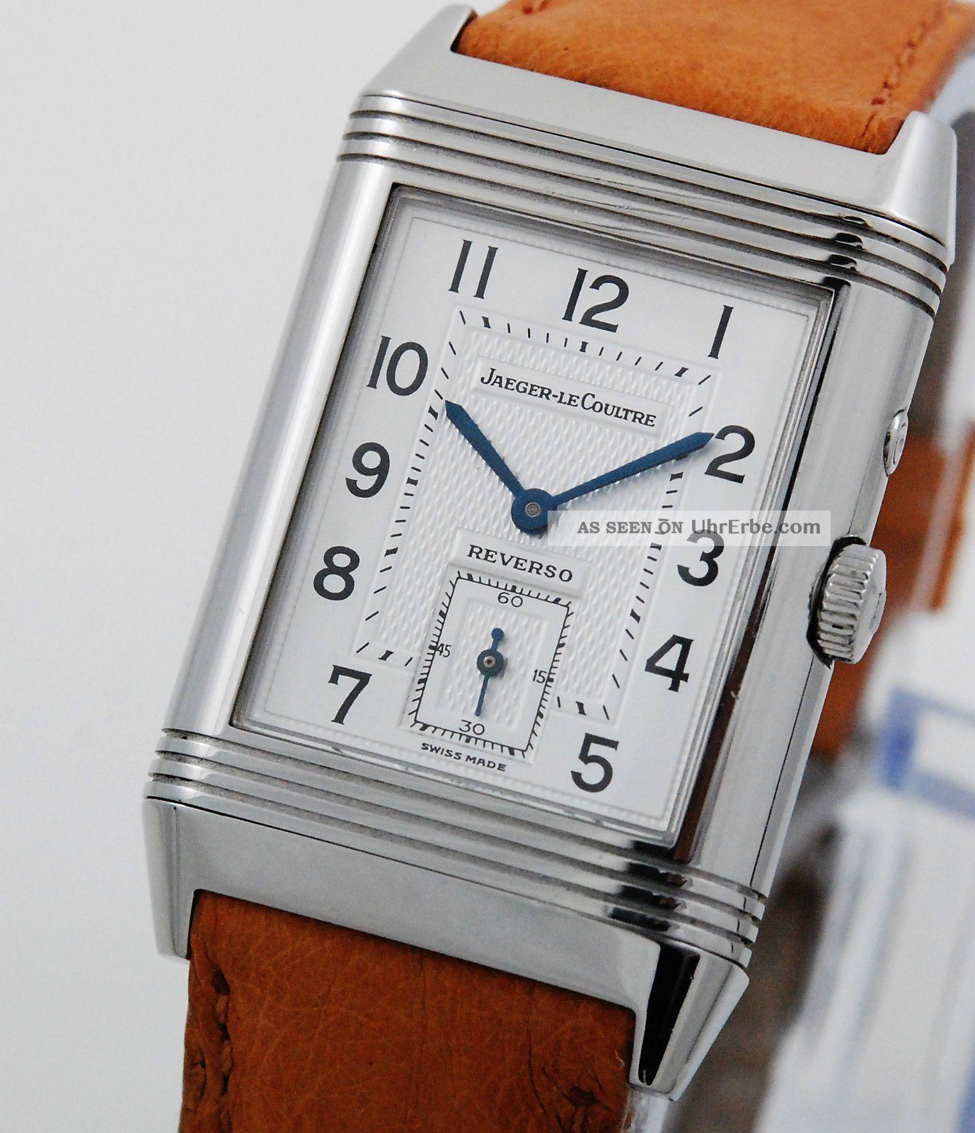Jaeger Lecoultre Reverso Douface Night & Day 270.  8.  54 Armbanduhren Bild