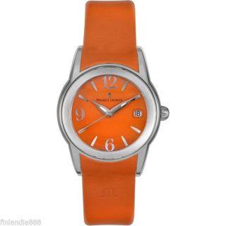 Maurice Lacroix Damen Uhr Orange Sphere Sh1014 - Ss001 - 520 Uvp.  590€ Bild