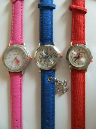 1 Youngster Armbanduhr Herz Engel Marienkäfer Uhr Uhren Armbanduhren Bild