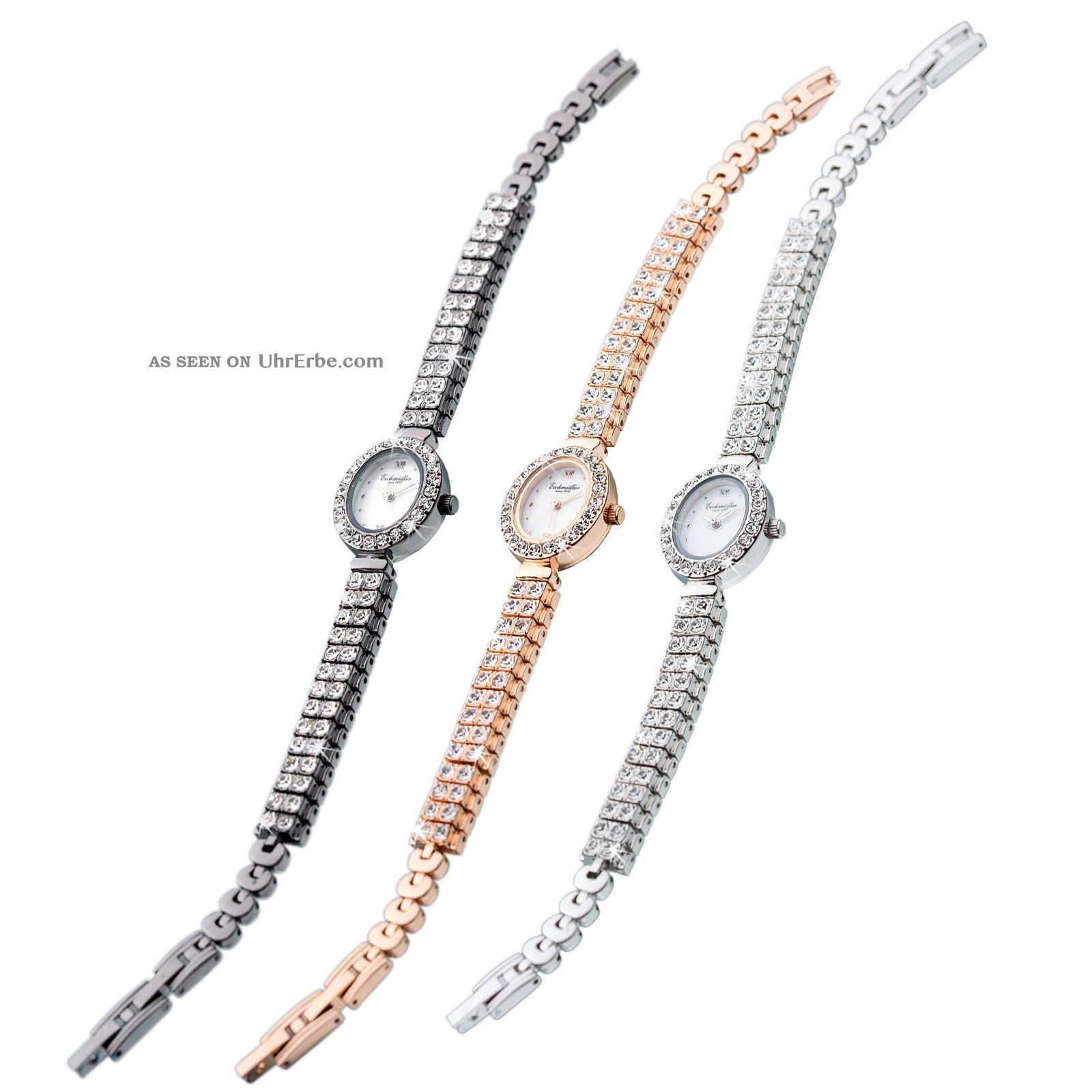 Damen Schmuckbanduhr Uhr Edelstahl Similisteine Starsssteine Verschiedene Farben Armbanduhren Bild