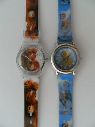1 Kinderarmbanduhr Pferde Kinderuhr Uhr Uhren Pferd Pony Ponys Kinderuhren Bild