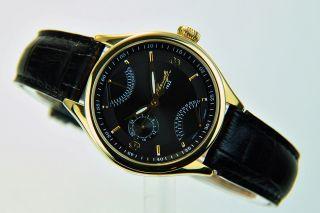 Kienzle 1822 Damen Uhr Quartz Vergoldet Mit Lederband Datumv83092342650 Bild