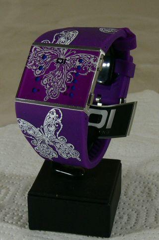 Oi The One Damen - Armbanduhr/ Binary Watch/ Uhr/ Mod - Slsl139b3/ & Ovp 3 - 1 Bild