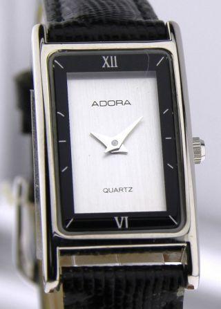 Armbanduhr Adora - Mineralglas - Mit Lederband Bild