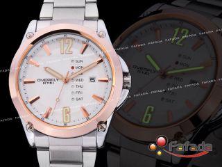 Fafada Eyki Nightvision Herrenuhr Damen Armbanduhr Quarz Uhr Mit Datumsanzeige Bild
