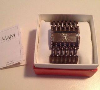 M & M 11652 - 995 Damenuhr Uhr Luxus Uvp 229,  00 Bild