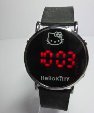 Armbanduhr Uhr Hello Kitty Silikon Led Digital Bild